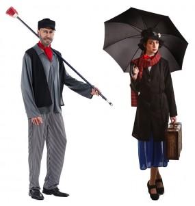 L'originale e divertente coppia di Spazzacamino e Mary Poppins per travestirsi con il proprio compagno