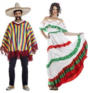 L'originale e divertente coppia di Messicani Tijuana per travestirsi con il proprio compagno