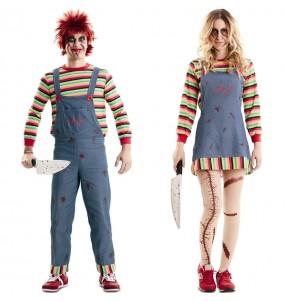 L'originale e divertente coppia di Chucky il pupazzo diabolico per travestirsi con il proprio compagno