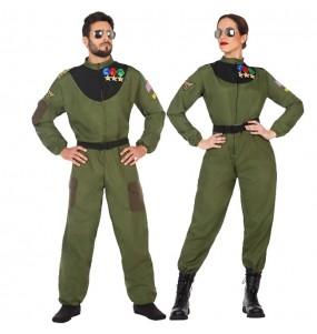 L'originale e divertente coppia di Piloti da combattimento per travestirsi con il proprio compagno