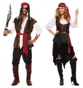 L'originale e divertente coppia di Re pirati per travestirsi con il proprio compagno
