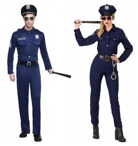 L'originale e divertente coppia di Agenti di polizia per travestirsi con il proprio compagno