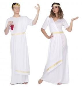 Travestimenti coppia romani bianchi divertenti per travestirti con il tuo partner