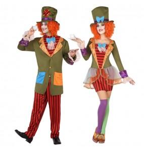 Travestimenti coppia Mad Hatters divertenti per travestirti con il tuo partner