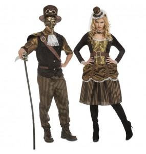 L'originale e divertente coppia di Steampunk per travestirsi con il proprio compagno