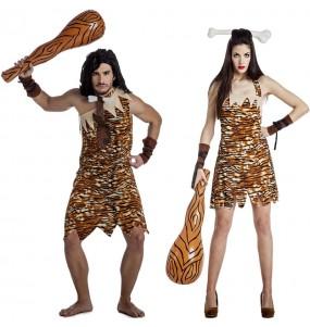 L'originale e divertente coppia di Cavernicoli selvaggi per travestirsi con il proprio compagno