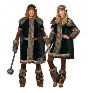 Travestimenti coppia vichinghi nordici divertenti per travestirti con il tuo partner
