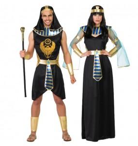 Travestimenti coppia egiziani Asenet e Abayomi divertenti per travestirti con il tuo partner