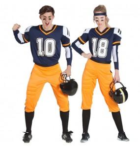 Travestimenti coppia football americano della NFL divertenti per travestirti con il tuo partner