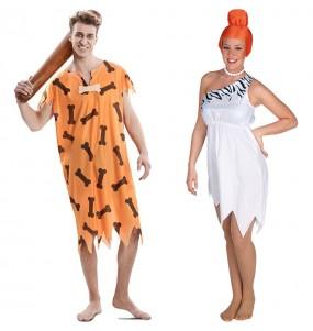 L'originale e divertente coppia di Famiglia Flintstone per travestirsi con il proprio compagno