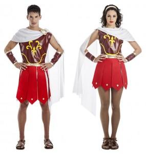 L'originale e divertente coppia di Gladiatori romani spartani per travestirsi con il proprio compagno