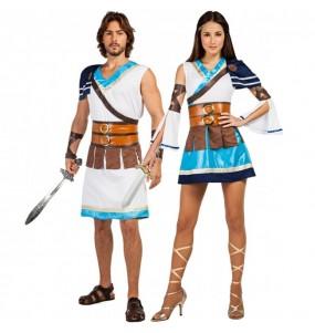 L'originale e divertente coppia di Guerrieri greci per travestirsi con il proprio compagno