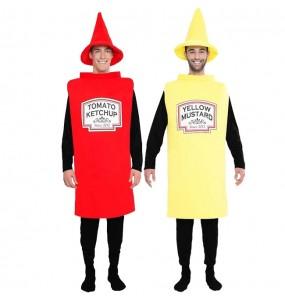 L'originale e divertente coppia di Ketchup e Mostrarda per travestirsi con il proprio compagno