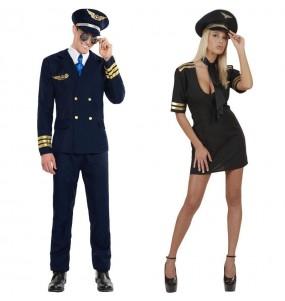 L'originale e divertente coppia di Piloti di linea per travestirsi con il proprio compagno