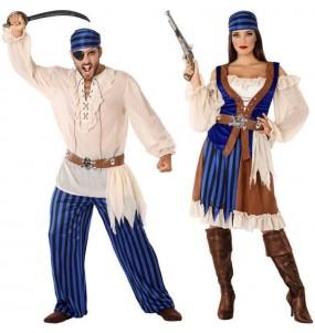 L'originale e divertente coppia di Pirati caraibici per travestirsi con il proprio compagno