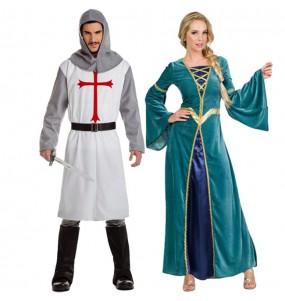 Travestimenti coppia re medievali divertenti per travestirti con il tuo partner