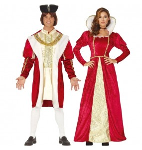 L'originale e divertente coppia di Re del Rinascimento per travestirsi con il proprio compagno