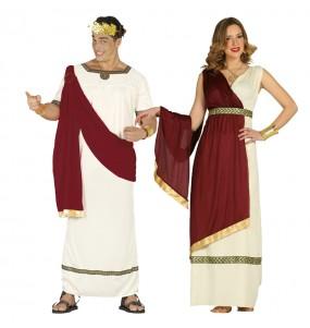 Travestimenti coppia romani nell'antica Roma divertenti per travestirti con il tuo partner