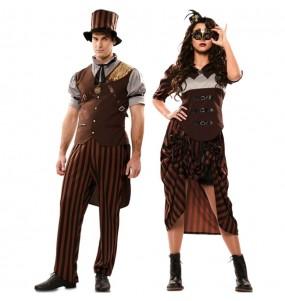 L'originale e divertente coppia di Steampunk gotici per travestirsi con il proprio compagno
