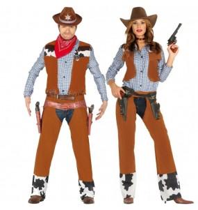 Travestimenti coppia Cowboy Rodeo divertenti per travestirti con il tuo partner