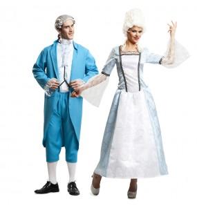 L'originale e divertente coppia di Cavaliere e Dama di Versailles per travestirsi con il proprio compagno