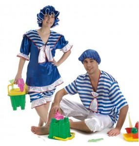 L'originale e divertente coppia di Bagnanti per travestirsi con il proprio compagno