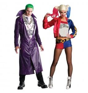 L'originale e divertente coppia di Joker e Harley Quinn per travestirsi con il proprio compagno