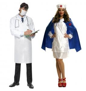 L'originale e divertente coppia di Dottore e Infermiera per travestirsi con il proprio compagno