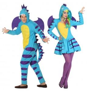 L'originale e divertente coppia di Dragoni alati per travestirsi con il proprio compagno