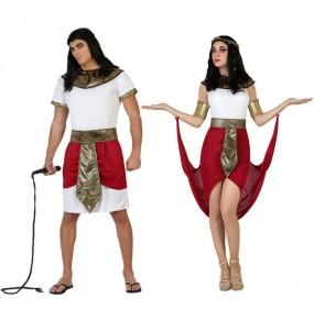 L'originale e divertente coppia di Egiziani rossi per travestirsi con il proprio compagno