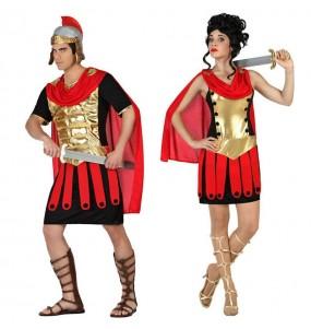 Travestimenti coppia guerrieri romani divertenti per travestirti con il tuo partner