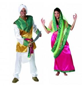 L'originale e divertente coppia di Indù per travestirsi con il proprio compagno