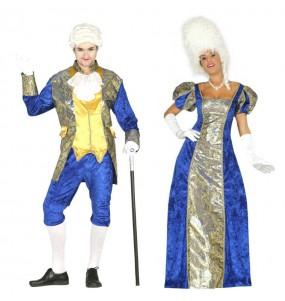 L'originale e divertente coppia di Marchesi azzurri per travestirsi con il proprio compagno