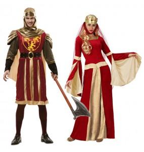 L'originale e divertente coppia di Medievali granati per travestirsi con il proprio compagno