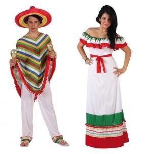 Travestimenti coppia messicani divertenti per travestirti con il tuo partner