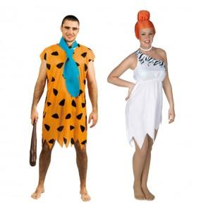 L'originale e divertente coppia di Fred e Wilma Flintstone per travestirsi con il proprio compagno