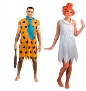 Travestimenti coppia Flintstones divertenti per travestirti con il tuo partner