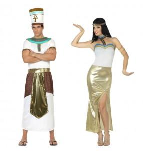 L'originale e divertente coppia di Re d'Egitto per travestirsi con il proprio compagno