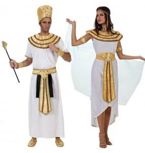 Travestimenti coppia re del Nilo divertenti per travestirti con il tuo partner