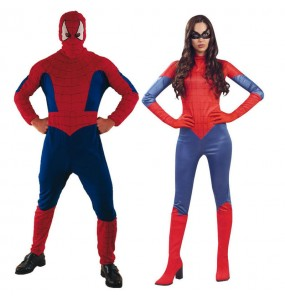 L'originale e divertente coppia di Spiderman per travestirsi con il proprio compagno