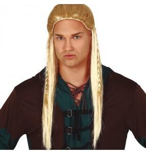 La più divertente Parrucca Legolas bionda per feste in maschera