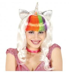 La più divertente Parrucca unicorno per feste in maschera