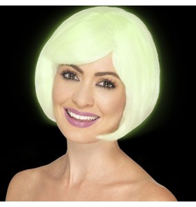 La più divertente Parrucca fosforescente di Halloween per feste in maschera