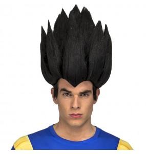 La più divertente Parrucca adulti Vegeta per feste in maschera