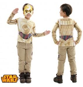 Travestimento T-shirt C-3PO bambino che più li piace