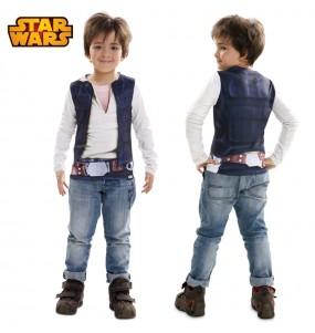 Travestimento T-shirt Han Solo bambino che più li piace