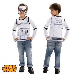Travestimento T-shirt Stormtrooper bambino che più li piace