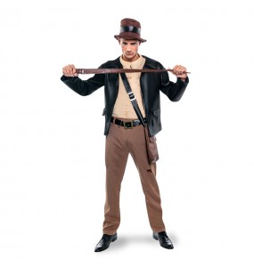 Travestimento Archeologo Indiana Jones adulti per una serata in maschera