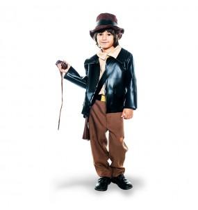 Travestimento Archeologo Indiana Jones bambino che più li piace