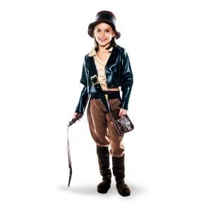 Travestimento Archeologo Indiana Jones bambina che più li piace
